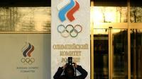 Siège du Comité olympique russe, le 23 novembre 2019 à Moscou [Kirill KUDRYAVTSEV / AFP/Archives]
