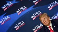 Donald Trump, le 5 mai 2018  à Cleveland [Nicholas Kamm / AFP]