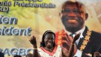 Simone Gbagbo en janvier 2011 à Abidjan [Issouf Sanogo / AFP/Archives]