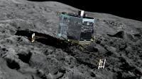 Vue d'artiste du robot spatial Philae sur la comète Tchouri [MEDIALIAB / ESA/AFP/Archives]