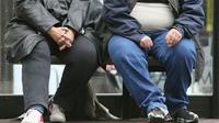 """L'espérance de vie des Européens continue d'augmenter mais l'obésité et le surpoids d'une proportion croissante de la population risquent d'""""inverser"""" cette tendance, a mis en garde l'Organisation mondiale de la santé [PAUL ELLIS / AFP/Archives]"""