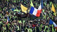Manifestation de «gilets jaunes», à Marseille, le 9 février 2019 [GERARD JULIEN / AFP/Archives]