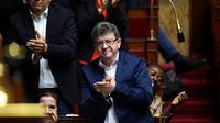 Jean-Luc Mélenchon à l'Assemblée nationale, le 10 juillet 2017 à Paris [bertrand GUAY / AFP/Archives]