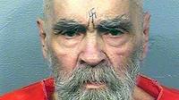 Photo fournie le 21 août 2017 par l'administration pénitentiaire de Californie du prisonnier Charles Manson le 14 août 2017 [Handout / California Department of Corrections and Rehabilitation/AFP/Archives]