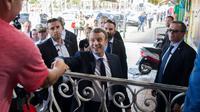 Le président français Emmanuel Macron, le 27 octobre à Cayenne [ALAIN JOCARD / AFP]