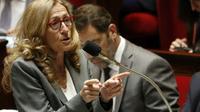 La ministre de la Justice, Nicole Belloubet le 13 juillet 2018 à l'Assemblée nationale [FRANCOIS GUILLOT / AFP/Archives]