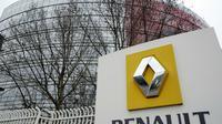 """Le siège de Renault à Boulogne-Billancourt, où va se tenir une """"réunion extraordinaire"""" du groupe [BERTRAND GUAY / AFP/Archives]"""