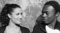 """Sabrina Ouazani et Marc Zinga dans le film d'Abd Al Malik """"Qu'Allah bénisse la France""""."""