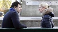 """Laurent Lafitte et Sandrine Kiberlain dans le premier long métrage de Jeanne Herry """"Elle l'adore"""""""