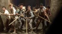 """Thomas Brodie-Sangster, Ki Hong Lee et Dylan O'Brien dans le film """"Le Labyrinthe"""" de Wes Ball."""