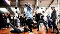 Les danses urbaines, ici dans la Grande Halle, sont au coeur du festival.