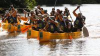 Le Raid, qui regroupe différentes disciplines comme la course d'orientation, le VTT, le canoë ou le trek, est exclusivement réservé aux femmes.