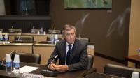 Jérôme Cahuzac lors de son audition le 23 juillet 2013 à l'Assemblée nationale à Paris par la commission d'enquête parlementaire par  [Martin Bureau / AFP/Archives]