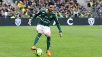 Rémy Cabella et Saint-Etienne restent sur neuf matchs sans défaite avant de recevoir le PSG.