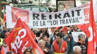 Manifestation contre la loi travail le 26 mai 2016 à Rennes [JEAN-FRANCOIS MONIER / AFP]