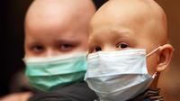 Enfants leucémiques à Donetsk