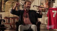 Eric Cantona, réinterprétant «Will Grigg's on Fire».