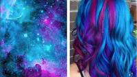 """La tendance """"Galaxy Hair"""" s'inspire de l'imagerie spatiale"""