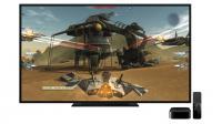L'Apple TV 4 met aussi l'accent sur les jeux vidéo.