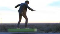 Le hoverboard permet de léviter à trente centimètres du sol pendant six minutes.