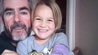 Alan Langdon et sa fille en juillet 2015.