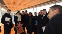 Lors d'une visite officielle, la maire de Paris a dessiné les contours du projet de modernisation de l'usine d'Orly.