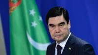Le président turkmène Gurbanguly Berdymukhamedov