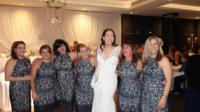 Un coïncidence qui a eu le don de faire bien rire la mariée et les invités.
