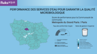 Avec un indicateur de la qualité microbiologiquee de l'eau potable à 99,93 %, l'Ile-de-France se hisse sur la première marche du podium.