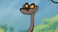 Kaa, le serpent un peu fourbe du Livre de la Jungle.