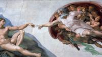 Peinte par Michel-Ange, la fresque «La Création d'Adam» représente Dieu (à droite).