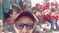 Les joueurs marocains ont fait parvenir aux fans en herbe un écran de télévision digne de ce nom.