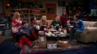 Les sept stars de «The Big Bang Theory» dans le générique de la série.