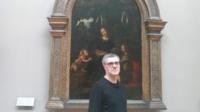 Stéphane Levallois s'est impregné des oeuvres de Léonard de Vinci pour «Leonard2Vinci», son album de BD éditée chez Futuropolis