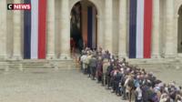 L'hommage populaire des Français à l'ancien président
