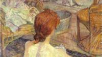 Henri de Toulouse-Lautrec, «Rousse (La Toilette)»,1889, Paris, Musée d'Orsay © Rmn-Grand Palais (musée d'Orsay) / Hervé Lewandoski