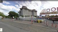 Capture d'écran de la vue du bunker sur Google Maps.