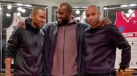 Trois légendes du sport français réunies
