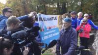Russ Mantle a atteint un million de miles parcouru en près de 70 ans.