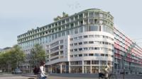 Un garage Citroën doit être surélevé pour créer 68 logements étudiants.