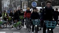 En pleine grève, les Vélib sont utilisés deux fois plus que d'habitude.
