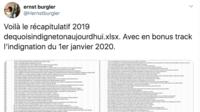 La liste des indignations française est longue