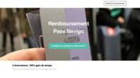 L'un de ces faux sites de remboursement du passe Navigo se présente sous cette forme.