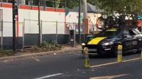 Sur la vidéo d'une trentaine de secondes, 14 voitures se font flasher.