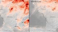 L'Agence spatiale européenne constate que la pollution a baissé en Europe depuis le début du confinement.