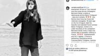 Carla Bruni a rendu un hommage poignant à Marie Trintignant sur Instagram.