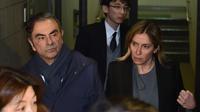 La justice japonaise a émis un mandat d'arrêt à l'encontre de Carole Ghosn, épouse de Carlos Ghosn.