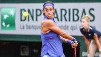 Caroline Garcia n'a encore jamais disputé de quart de finale en Grand Chelem.