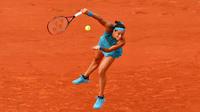 Breakée d'entrée, Caroline Garcia a aligné douze jeux d'affilée pour éliminer la Chinoise Yingying Duan.