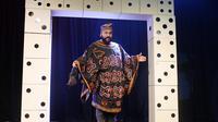 Le polémiste Dieudonné donne une conférence de presse au théâtre de la Main d'Or à Paris, le 11 janvier 2014 [Alain Jocard / AFP/Archives]